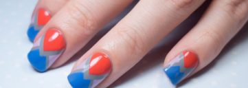 patriotic nails, nail art, patriotic nail art, 4th of july, july 4th, red white and blue