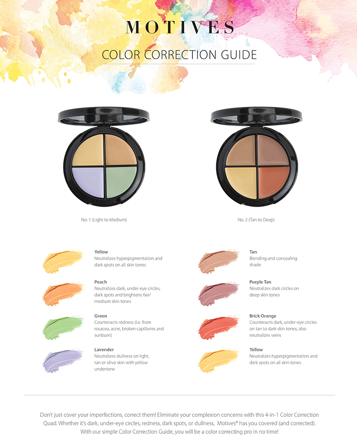 Color Correction Made Easy A Makeup Guide By Motives