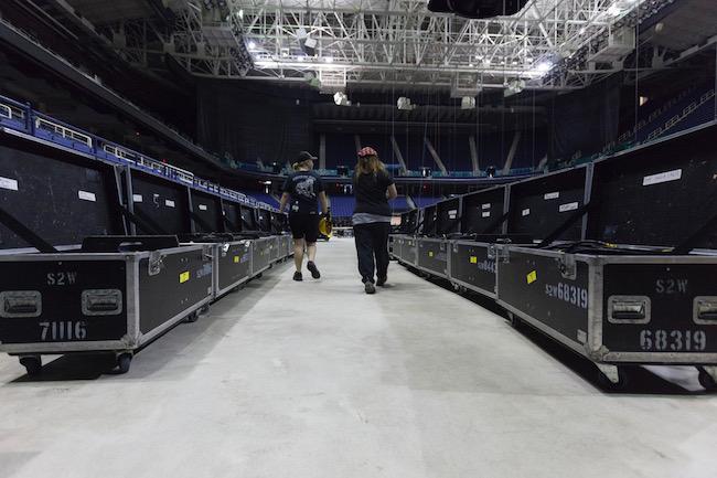 behind the scenes, backstage, colosseum, greensboro, preparations, MAIC2017, #MAIC2017, maic, market america, shop.com