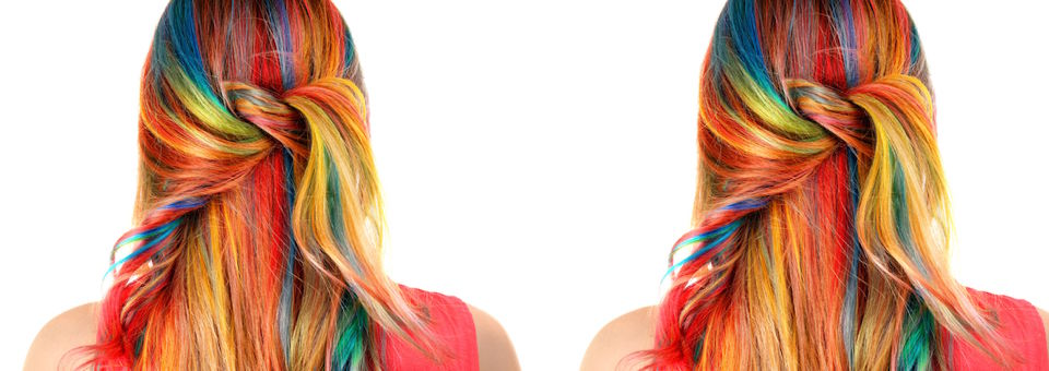 pastel hair, multicorlor highlights, bright colors, teal, green, pastel, vibrant hair, vibrant hair colors