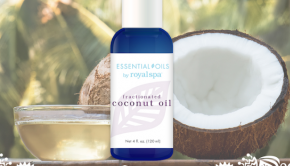 royal spa, coconut oil, Fractionated Coconut Oil, essential oils