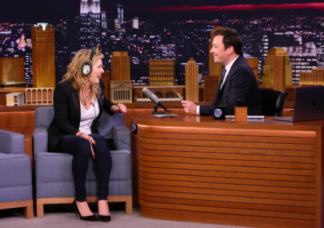 Kate Winslet Shares The Best Self-Care Tip Ever, kate winslet, self-care, self care, jimmy fallon