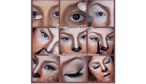 motives, motives cosmetics, doe, makeup, get the look with motives, halloween, halloween makeup