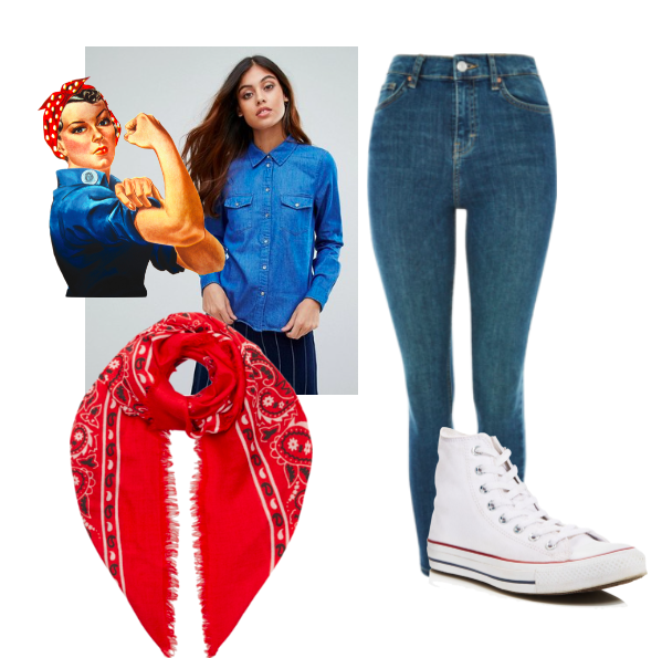 rosie the riveter, get the look for halloween, halloween, costume, Get the Look for Halloween: Rosie the Riveter