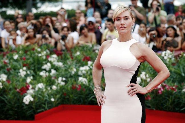 VENICE, ITALY - SEPTEMBER 02: Actress Kate Winslet attends 'Mildred Pierce' Premiere during the 68th Venice Film Festival on September 2, 2011 in Venice, Italy.