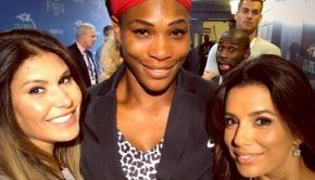 serena williams married