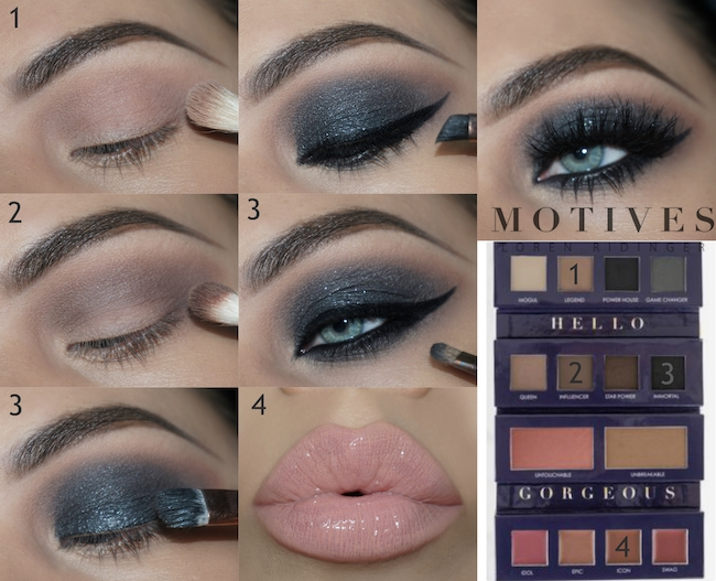 Get the Look With Motives®: Iconic, iconic palette, motives®, motives® cosmetics, motives, motives cosmetics, tutorial, get the look with motives®,