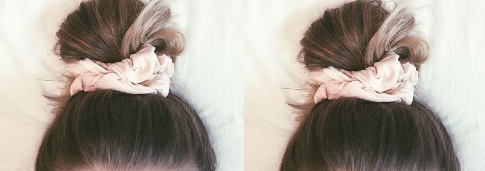 scrunch, hair, SHOP.COM, shop, style, trend, 90s, Is This The Return of the Scrunchie?