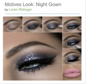 Motives makeup trend fall party season