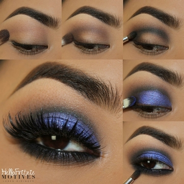 Get the Look with Motives®: Midnight Blue, get the look, midnight blue, get the look with motives, motives, motives® cosmetics