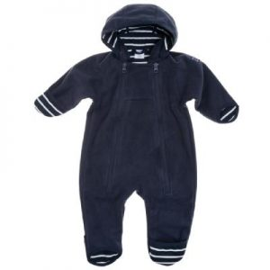 navy stripes wind onesie newborn
