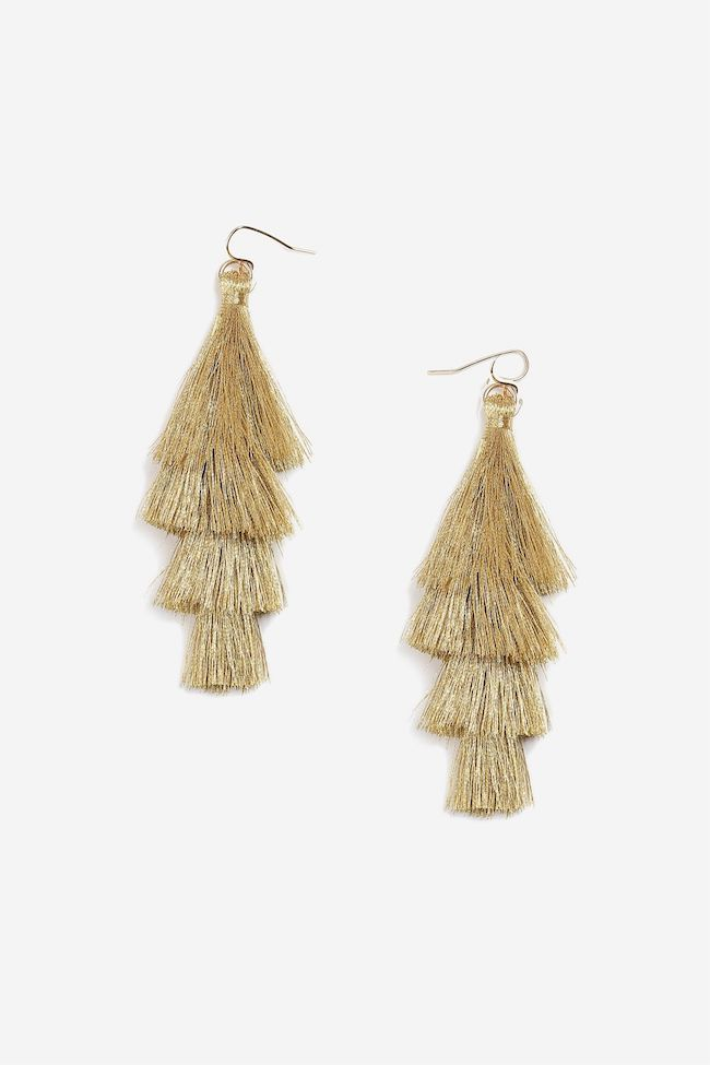 5 Statement Earrings Under $50, statement earrings, earrings, tassel earrings, budget