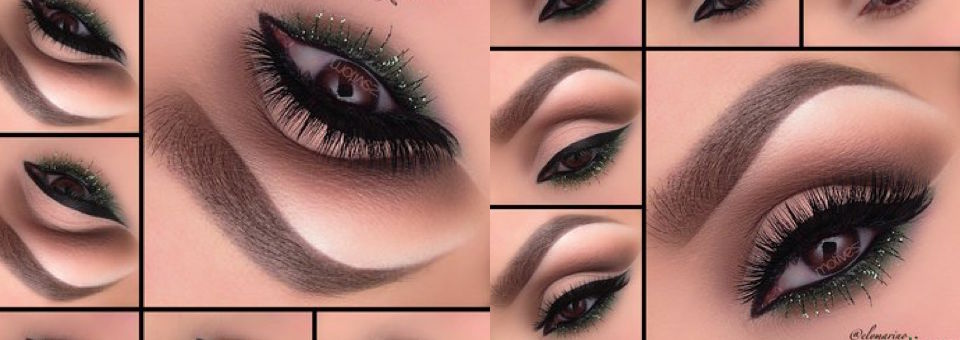 Get the Look With Motives®: Green Glam, motives, motives cosmetics, green glam