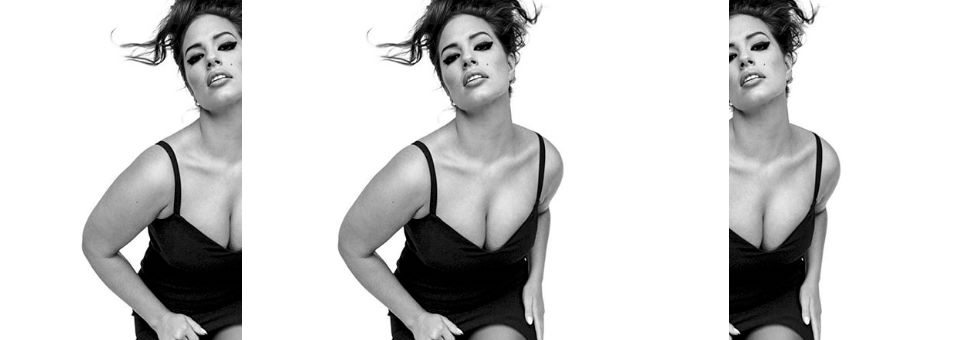 Ashley Graham is a Beauty With or Without Photoshop, ashley graham, photoshop, vogue italia, italy, vogue