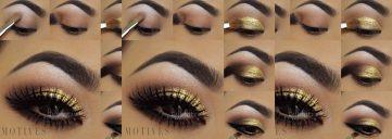 Get the Look with Motives®: Golden Smokey, motives, motives cosmetics