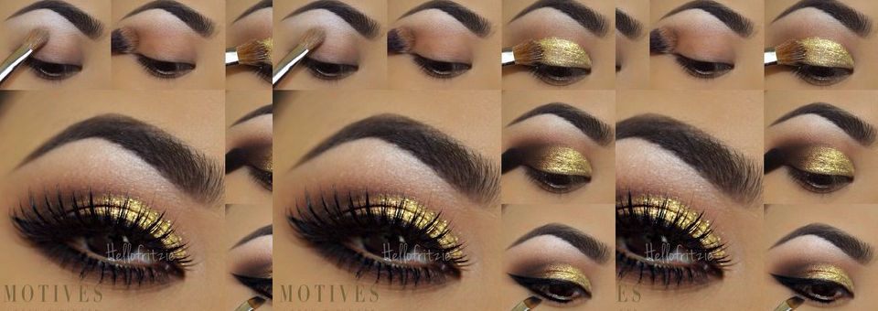 Get the Look with Motives®: Golden Smokey, motives, motives cosmetics