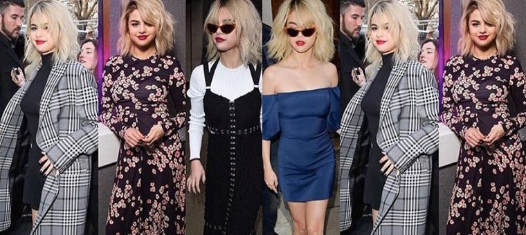 Selena Gomez Slayed 5 Outfits in One Day, selena gomez, london, 5 outfits in one day, selena