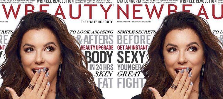 Eva Longoria Makes the Cover of New Beauty, pregnancy, eva, eva longoria, new beauty, pregnant,