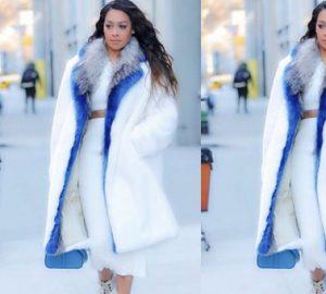 Shop the Look: La La Goes Monochrome for Winter, shop the look, winter, la la anthony, lala anthony, lala, monochrome