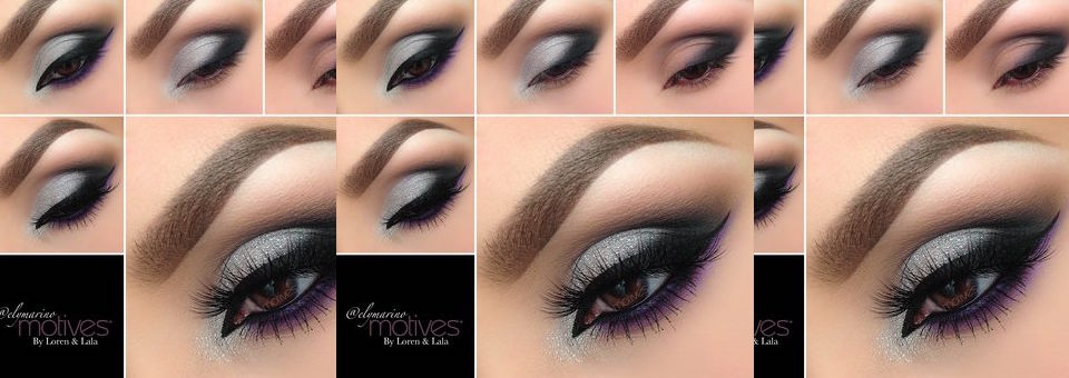 Get the Look with Motives®:Silver and Purple Eye, motives, motives cosmetics, silver and purple, nye, new years eve