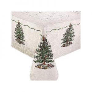 christmas decorations tablecloth