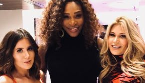 vogue magazine serena