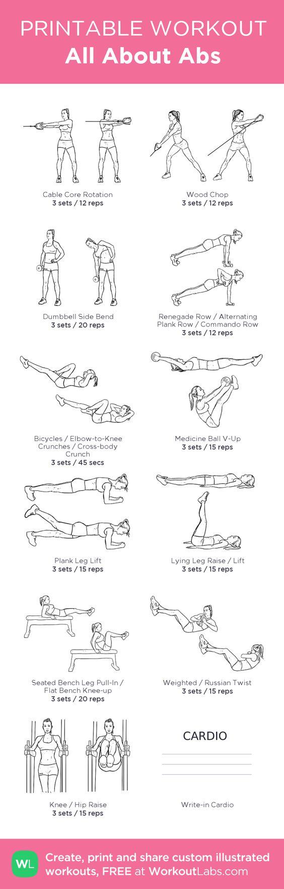 5 Core Workouts from Pinterest - Loren's World