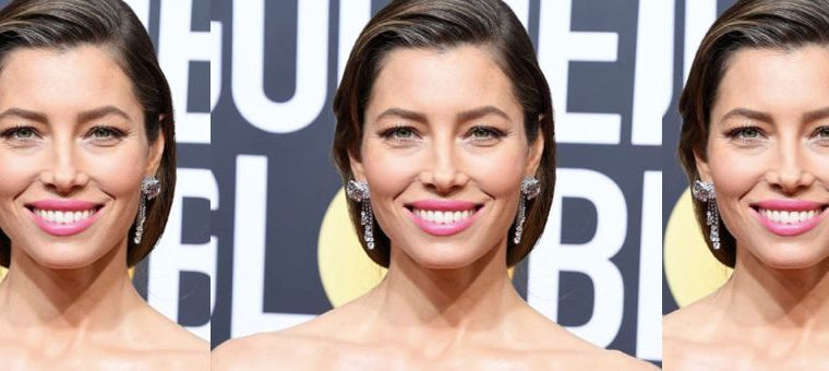 Jessica Biel Showed Off Her Gray Hair at the Golden Globes , golden globes, jessica biel, 2018 golden globes, gray hair, hair, beauty news