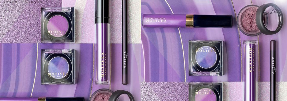 Let's Go Ultra Violet with Motives®, ultra violet, pantone, pantone color of the year, motives, motives® cosmetics