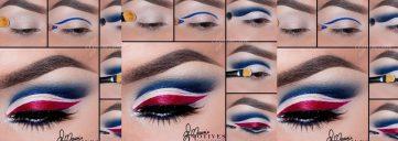 Game Day Beauty: Show Off Your Team Pride, Super Bowl, superbowl sunday, new england patriots, eagles, team, team pride