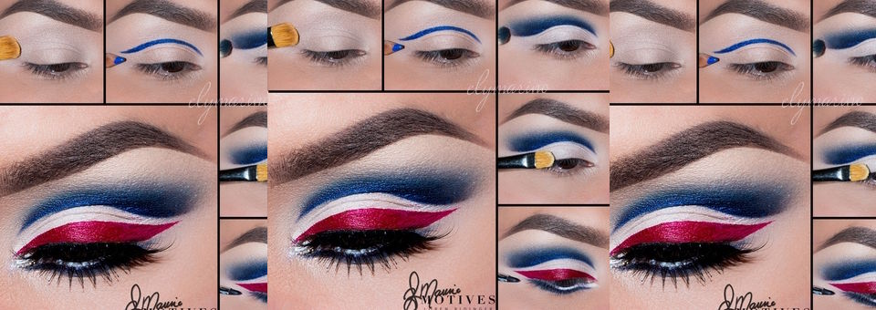 Game Day Beauty: Show Off Your Team Pride, Super Bowl, superbowl sunday, new england patriots, eagles, team, team pride