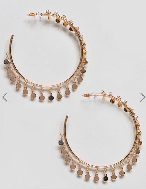 5 Hoop Earrings Under $20, hoop earrings, budget, budget buys, loren ridinger, my style