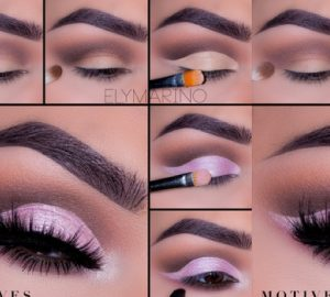 Get the Look: Pink & Brown , motives, get the look with motives, motives cosmetics, loren ridinger, get the look