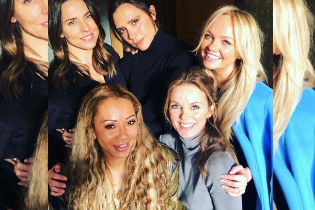 Victoria Beckham Joins the Spice Girls for Reunion Tour, entertainment, reunion tour, reunion, spice girls, victoria beckham, friend