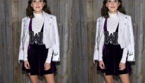 Shop the Look: Millie Bobby Brown's NYFW Jacket, millie bobby brown, nyfw, calvin klein, karlie kloss