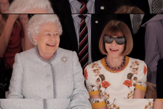 Major Fashion History Was Made this Week, fashion week, elizabeth, queen elizabeth, anna wintour