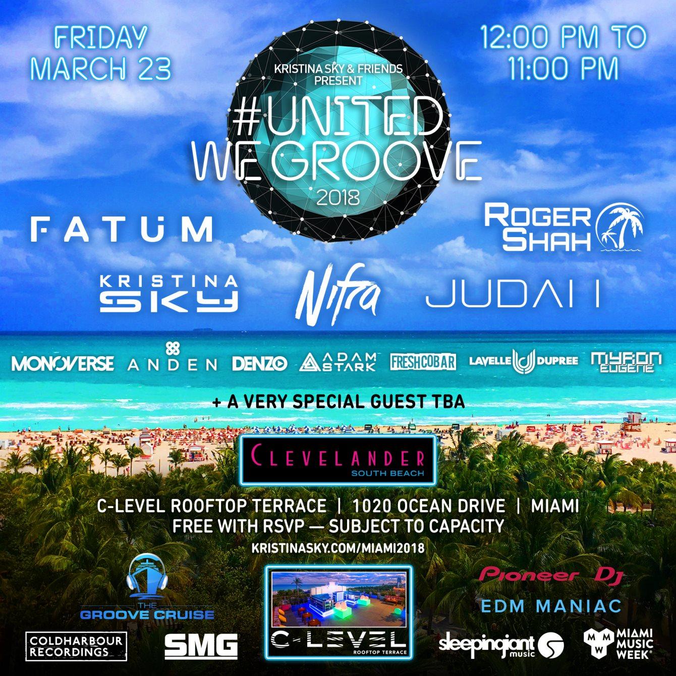 Free Events Miami Winter Music Conference 2018 Loren S