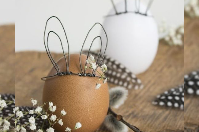 Last Minute Easter Decor from Pinterest, pinterest, easter, easter egg, decor, home decor, last-minute