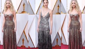 Metallic Gowns Inspired by My Favorite Oscars Dresses, jennifer lawrence, lupita nyong'o gal gadget, oscars fashion, red carpet, oscars 2018,