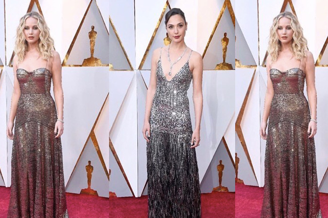 Metallic Gowns Inspired by My Favorite Oscars Dresses - Loren\'s World