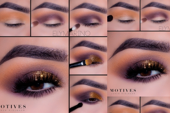 Get the Look with Motives®: Purple & Copper, copper, purple, motives, motives cosmetics