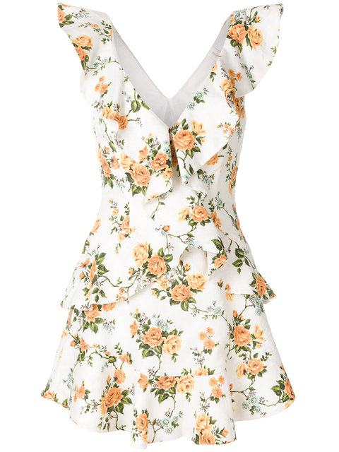 Get the Look: Amber's Zimmermann Dress, zimmermann, amber, floral, spring