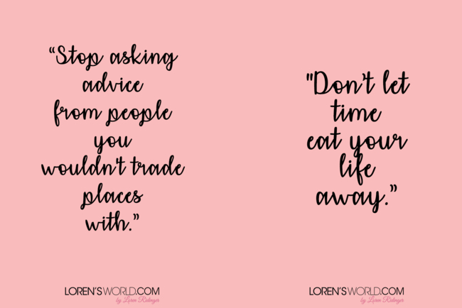 15 Inspiring Quotes to Live By - Loren\'s World