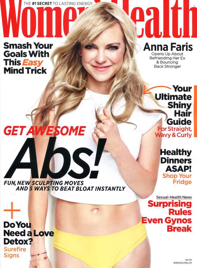 Motives® 'Bloom' Palette Featured in Women's Health, women's health, anna faris, bloom palette