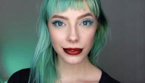 How to Acheive a Metallic Ombre Lip, metallic ombre, metallic lips, metallic lipstick, motives®, motives® cosmetics