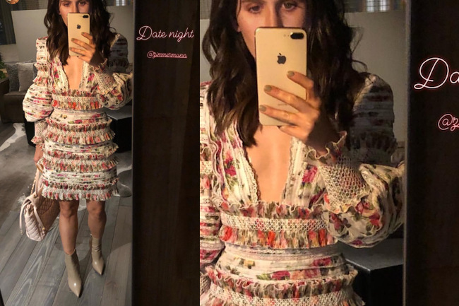 Get the Look: Amber's Date Night Dress, zimmermann, amber ridinger, loren ridinger, amber, get the look