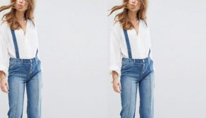 The Jumpsuit You Can Wear with Every Top You Own, jumpsuit, top, denim, denim jumpsuit