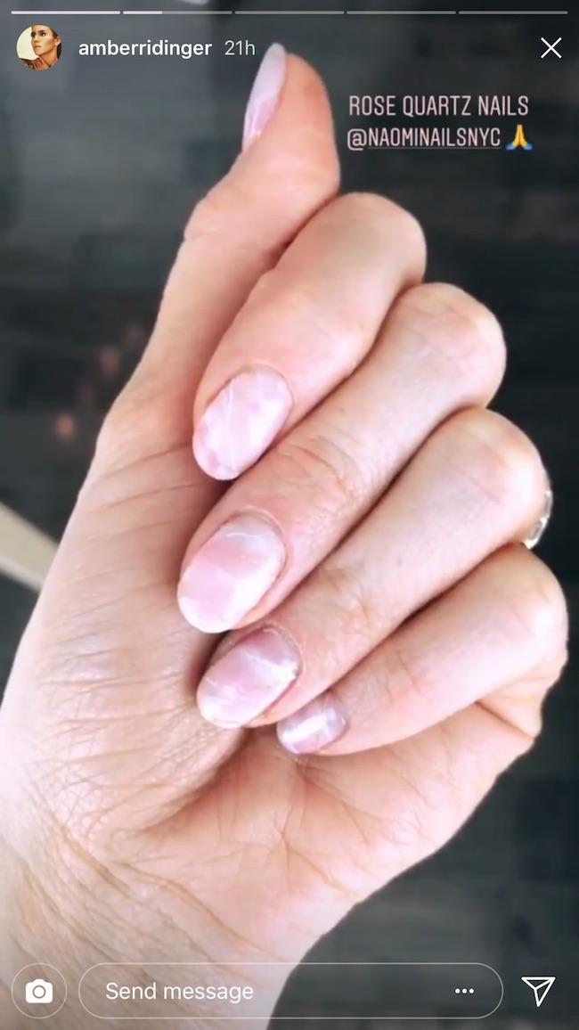Nail Art: Amber\'s Modern Manicure - Loren\'s World