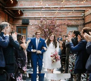 Alternative Bride: Aidy Bryant Wore Purple Shoes to Her Wedding, aide bryant, purple, purple shoes, alternative bride, wedding, weddings
