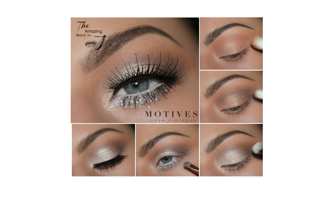 Get the Look with Motives®: Silver, silver, etherial, heavenly bodies, eyeshadow, amazing work of j, motives, motives cosmetics